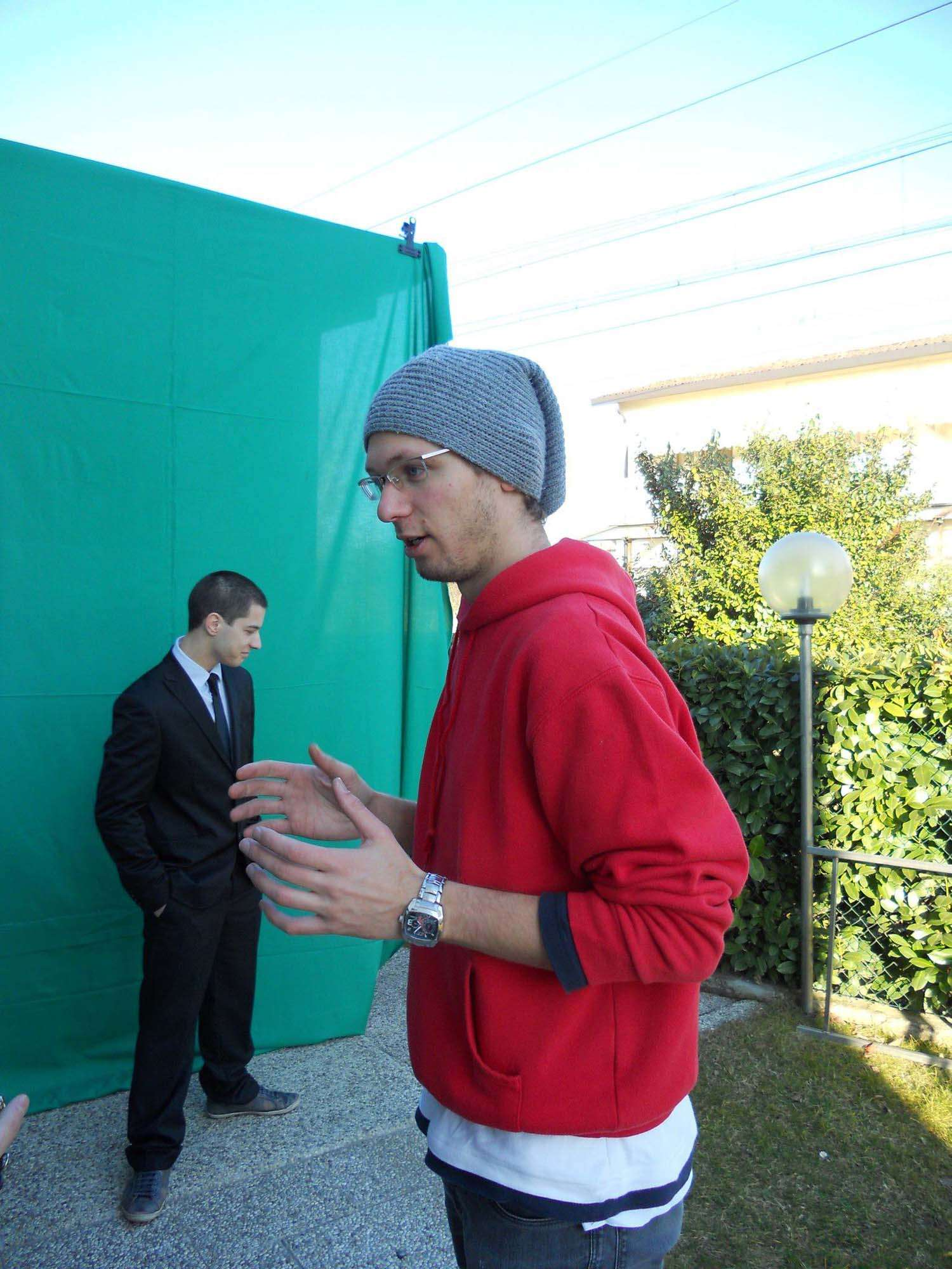 Photo Shooting Action Movie Backstage Quantum of Gatta 007 video maker filmmaking cortometraggi Altercut