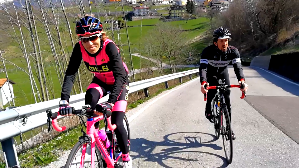 Alpago Tour Cycling ciclismo video sport riprese video esterne Lago Santa Croce Biesse Cicli