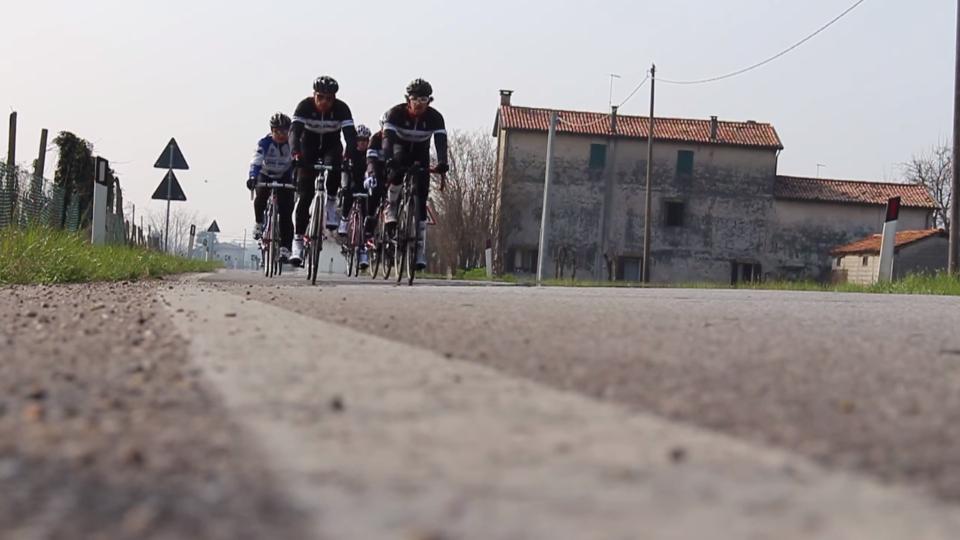 Biesse Cycling Mediofondo Primavera ciclismo video sport riprese video esterne Montello Biesse Cicli