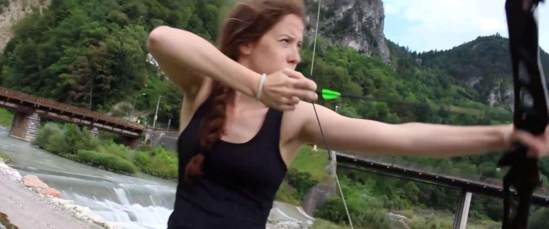 Hunger Games Trailer Remake Camposcuola Altercut Tiro con l'Arco